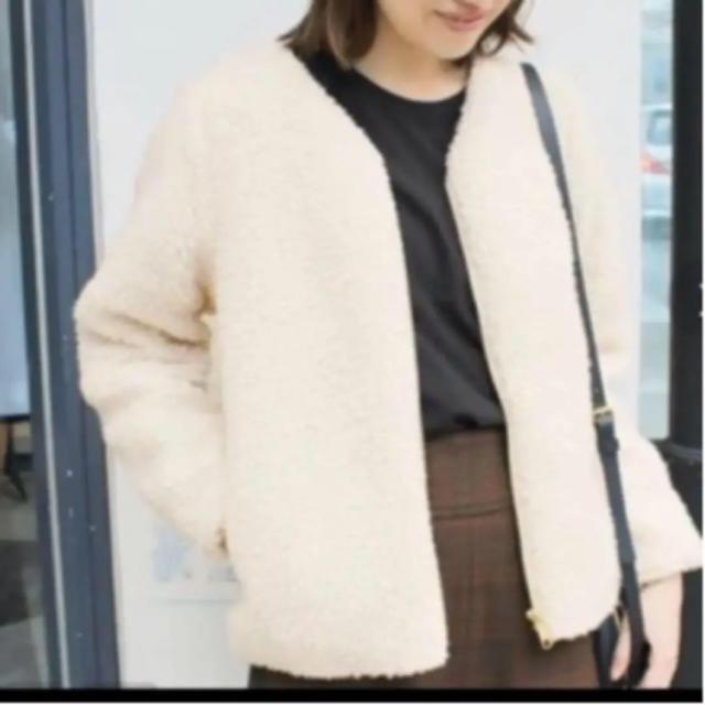 IENA(イエナ)のボアブルゾン レディースのジャケット/アウター(ブルゾン)の商品写真