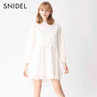 snidel - SNIDEL♡ バッククロスニットワンピース