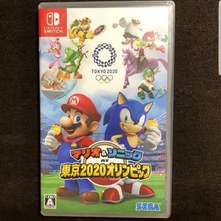 Nintendo Switch - マリオ&ソニック 東京2020オリンピック 値下げ不可
