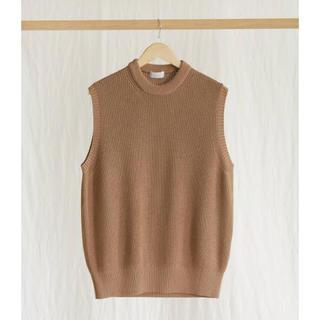 SUNSEA - PHLANNEL Washi Silk Crew Neck Knit Vest