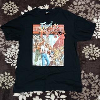 コナミ(KONAMI)のファイナルファイト 名作 ゲーム Tシャツ Lサイズ(Tシャツ/カットソー(半袖/袖なし))