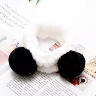 gelato pique - 新品♡【ブラック】パンダ ヘアターバン