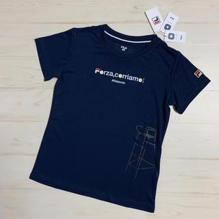 FILA - 【SALE】フィラ Tシャツ・ネイビー Mサイズ
