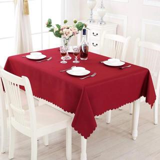 テーブルクロス 赤 パーティ クリスマス