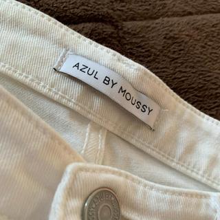 アズールバイマウジー(AZUL by moussy)の白パン(デニム/ジーンズ)