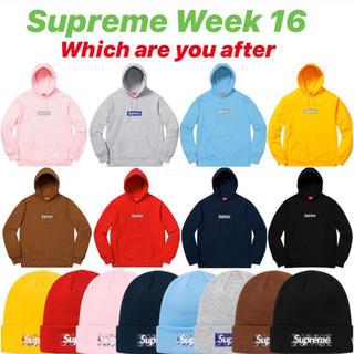 Supreme - supreme week16 Boxlogo Hooded beanie
