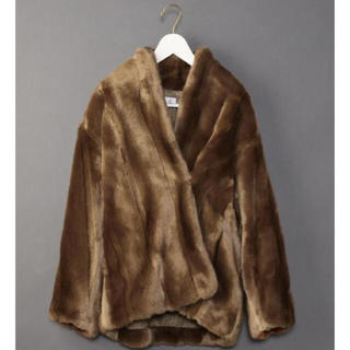 BEAUTY&YOUTH UNITED ARROWS - 6 ROKU FAKE MINK FUR COAT フェイクファーコート