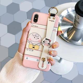 iPhone - ⭐iPhone7/8 Plus ケース ハンドベルト付 大人可愛い XS