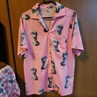 FUNKY FRUIT - 未来が見えない 柄シャツ 半袖