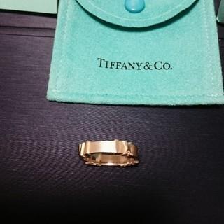 Tiffany & Co. - 【TIFFANY & Co】アトラスリング 12号(13号の可能性もあり)