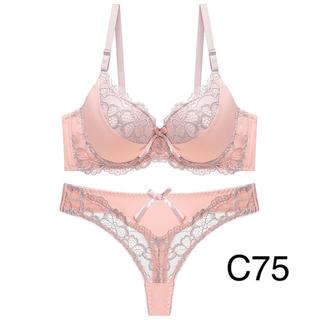 ブラ&ショーツ セット C75(ブラ&ショーツセット)