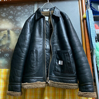 ベドウィン(BEDWIN)の週末限定セール【最強ムートン】b3 ジャケット(フライトジャケット)