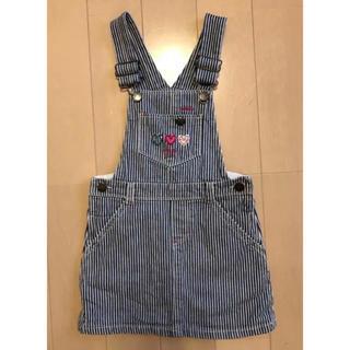 OshKosh - 110cm【オシュコシュ】ジャンパースカート オーバーオール