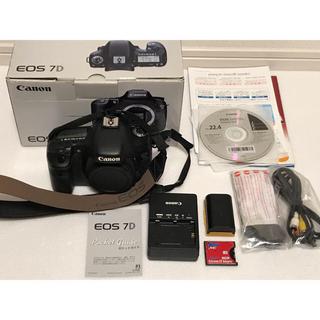 Canon - キヤノン EOS7D 本体 付属品多数♪