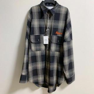 COMOLI - dairiku Biggie Wool Check Shirt