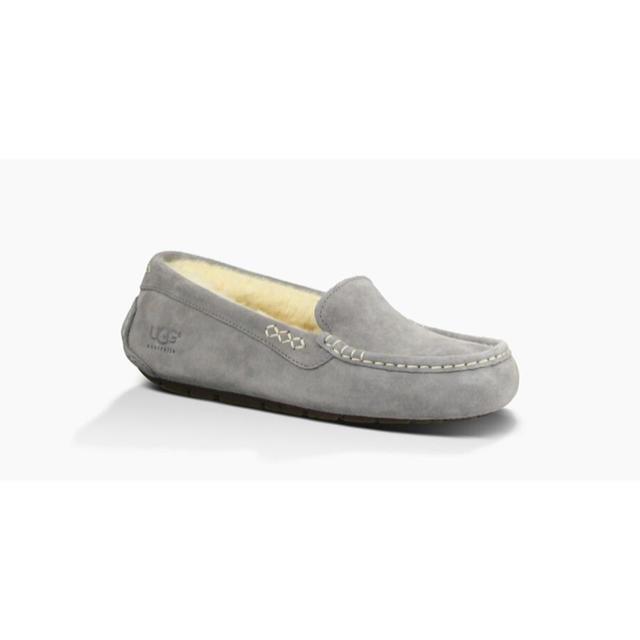 UGG(アグ)のUGG ANSLEY アンスレー グレー レディースの靴/シューズ(スリッポン/モカシン)の商品写真
