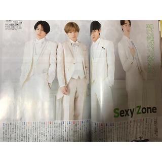 セクシー ゾーン(Sexy Zone)のザ・テレビジョン1/3号 SexyZone 切り抜き(アート/エンタメ/ホビー)