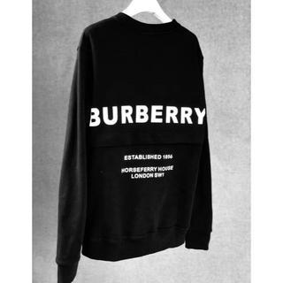 BURBERRY - BURBERRY AW19 ホースフェリー スウェットシャツ