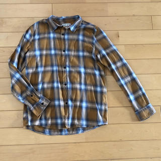 ZARA KIDS - ザラ キッズ チェックシャツ マスタード 164cm 未使用
