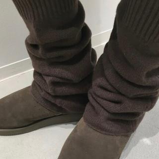 アパルトモンドゥーズィエムクラス(L'Appartement DEUXIEME CLASSE)の新品* アパルトモン  LEG WARMER [ブラウン](レッグウォーマー)