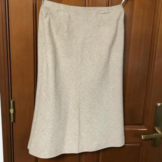 ウール☆膝丈スカート(ひざ丈スカート)