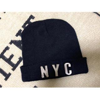 ウィゴー(WEGO)のVENCE 美品 ニット帽(ニット帽/ビーニー)