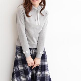 PROPORTION BODY DRESSING - 美品♡袖ビジューパーカー