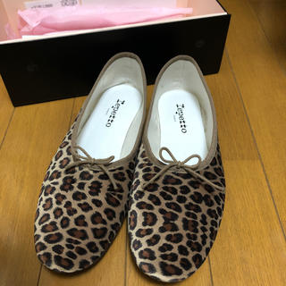 BEAUTY&YOUTH UNITED ARROWS - repetto MANON レオパード