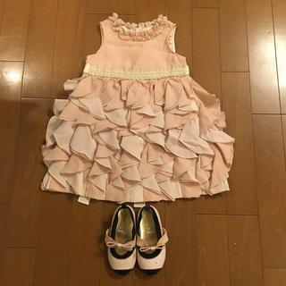 ジルスチュアートニューヨーク(JILLSTUART NEWYORK)のジルスチュワート ペダルドレス 90  クレイジー8のドレスシューズのオマケ付(ドレス/フォーマル)