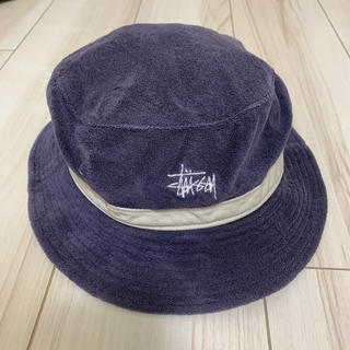 STUSSY - stussy ベロア 帽子