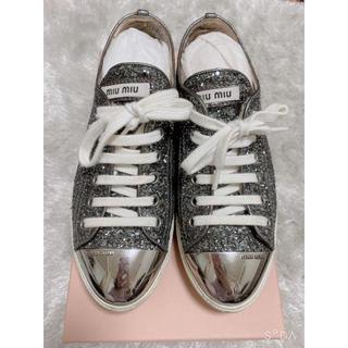 ミュウミュウ(miumiu)のミュウミュウ  靴(スニーカー)