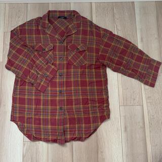ダブルクローゼット(w closet)のw closet ネルチェックロングシャツ(シャツ/ブラウス(長袖/七分))