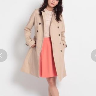インデックス(INDEX)のお値下げ♡試着のみ 美品 インデックス スカート ピンクオレンジ L(ひざ丈スカート)