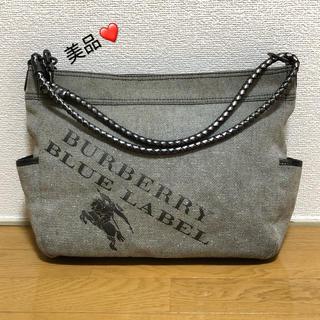 BURBERRY - 激安!美品!【12000→6600】バーバリーブルーレーベルトートバッグ