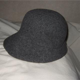 KENZO - ●KENZO ケンゾー フェルト 帽子 暖かい 秋冬 グレー ダークグレー