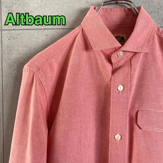 スコッチアンドソーダ(SCOTCH & SODA)のAltbaum アルトバウム ボーダー切り替えシャツ  Lサイズ(シャツ)