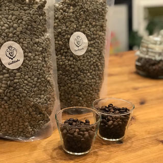 ガルテンビウォッシュド・ナチュラル飲み比べセット①【自家焙煎コーヒー豆】(コーヒー)