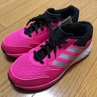 アディダス(adidas)のadidas(ピンク)【Ladys/23.0/新品】(スニーカー)