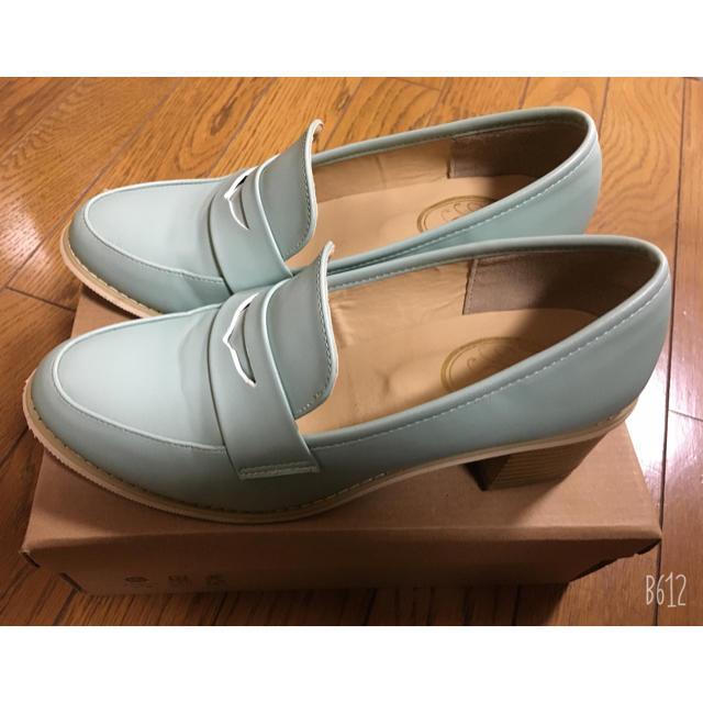 F i.n.t(フィント)のFint カラーヒールローファー レディースの靴/シューズ(ローファー/革靴)の商品写真