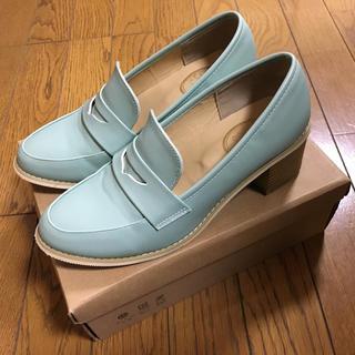 フィント(F i.n.t)のFint カラーヒールローファー(ローファー/革靴)