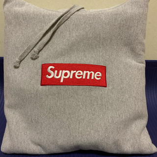 Supreme - supreme Boxロゴパーカーbox logoグレー正規品Mサイズ