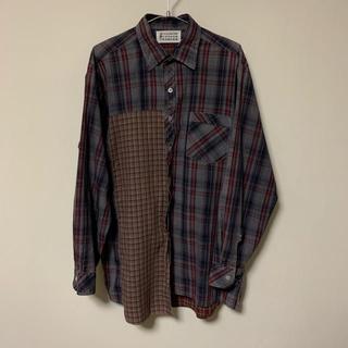 Maison Martin Margiela - マルジェラ アーティザナル チェックシャツ サイズ2