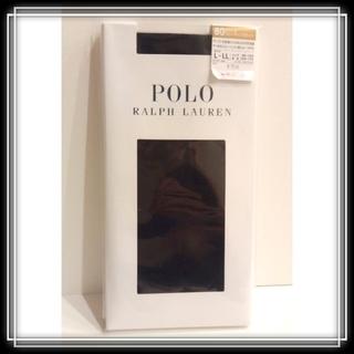 POLO RALPH LAUREN - c 新品 ラルフローレン タイツ 〜LL 黒 80デニール POLO RALPH
