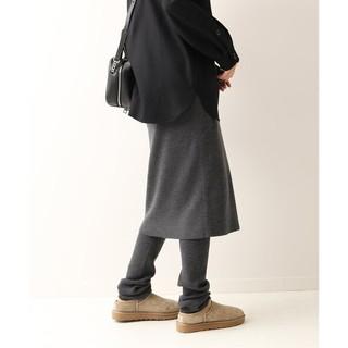 フレームワーク(FRAMeWORK)のFRAMeWORK【フレームワーク】☆レギンス付きスカート2 新品グレーA 36(その他)