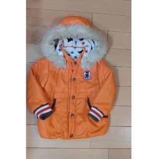 DOUBLE.B - オレンジ色 ナイロンジャンパー