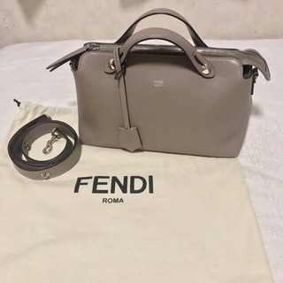 FENDI - フェンディ バイザウェイ グレージュ ベージュ 正規品