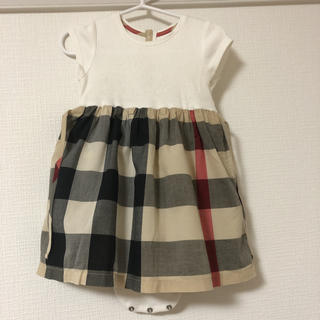 BURBERRY - Burberry 18m ワンピース