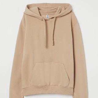 H&M - H&M スウェットパーカ ベージュ 裏起毛で暖かい