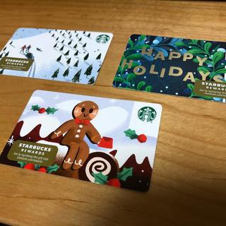 Starbucks Coffee - 海外 クリスマススターバックスカード 2019