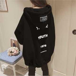 (L・XL) オーバーサイズ パーカー韓国ファッション オルちゃん裏起毛(パーカー)